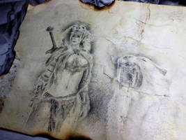Forsworn Huntress by Nobert-Stanel