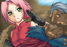 Haruno Sakura by kuridoki