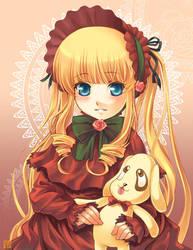 Rozen Portraits 2 - Shinku by kuridoki