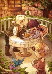 Tea Time by kuridoki