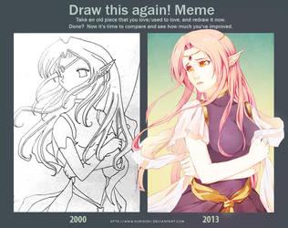 Drew it again by kuridoki