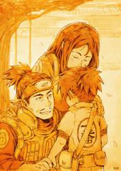 Irukas First Day at the Ninja Academy by kuridoki
