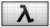 HALF - LIFE Stamp by Dead-Deviant
