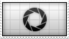 APERTURE SCIENCE Stamp by Dead-Deviant