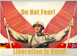 Soviet Union - Liberation of USA Poster by Annoyomus
