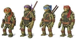 Ninja Turtles by robnix