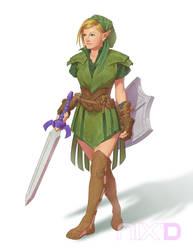 Lady Link by robnix