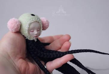 Little sleeper on my hand... by ShirrStoneShelter