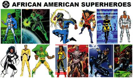 DC African American Superheroes by StevenEly