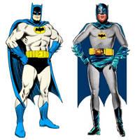 West's Batman based on Carmine Infantino art by StevenEly