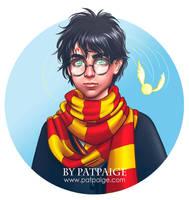 Harry Potter by PatPaige