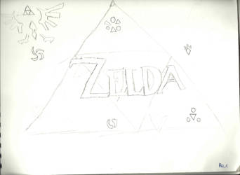 Zelda Triforce by CrimzenWolf