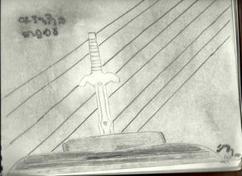 Master Sword :OOT by CrimzenWolf