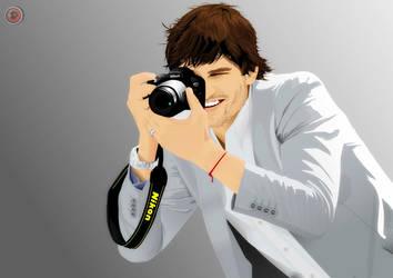 Ashton Kutcher by nadjeeb