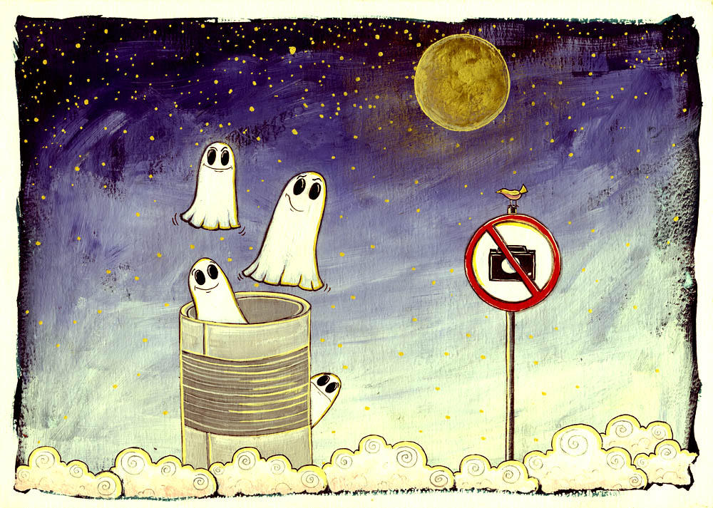 tincan full of ghosts by Adnil