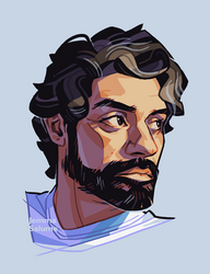 Oscar Isaac again by oxboxer
