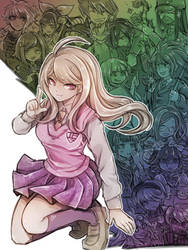 New Danganronpa V3 by riyuta
