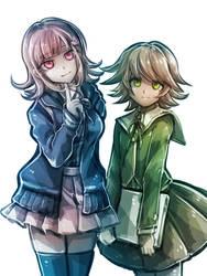 Happy Birthday Chiaki and Chihiro by riyuta