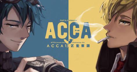 ACCA: 13-ku kansatsu-ka by BestasCrow