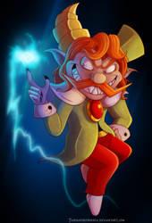Zelda Collab - Chancellor Cole by Turquoisephoenix
