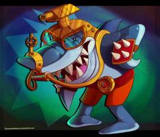 Crash Nitro Kart - Nash by Turquoisephoenix