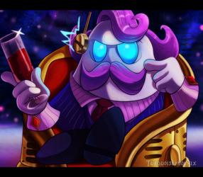 Kirby - The Noble Haltmann by Turquoisephoenix
