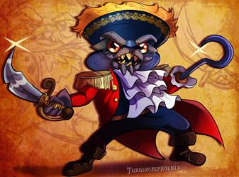 Skylanders - Baron Von Shellshock by Turquoisephoenix