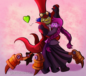 Skylanders - Happy Valentine's Day by Turquoisephoenix