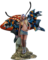 Modern Fae Pin-Up by Mild2Wild-Studios