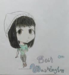 Beth Washington #9 (chibi) by Nadia-Disney