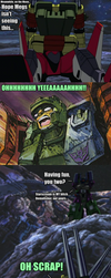 Starscream is Megatron's bitch by ZoraTheTwilightDrake