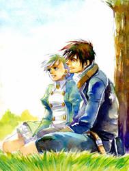 SHADOW HEARTS Yuri and Alice by taka0801