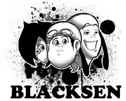 BlackSen Tshirt logo by BlackSen