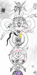The Multi-Locational Phallic Fractal of Mendes by Jon-Capricorn-358