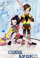 Ulrich and Yumi - FIGHT! by RochiPelekai