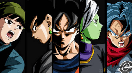 Dragon Ball Super Escena by SaoDVD