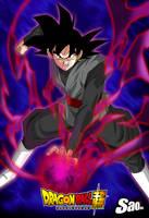 Goku Black Poster by SaoDVD