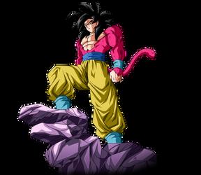 Goku SSJ4 by SaoDVD