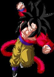 Super Saiyajin 4 by SaoDVD