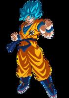 Goku Super Saiyajin Blue 2018 by SaoDVD