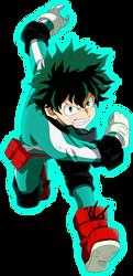 Deku - Boku no Hero Academy by SaoDVD