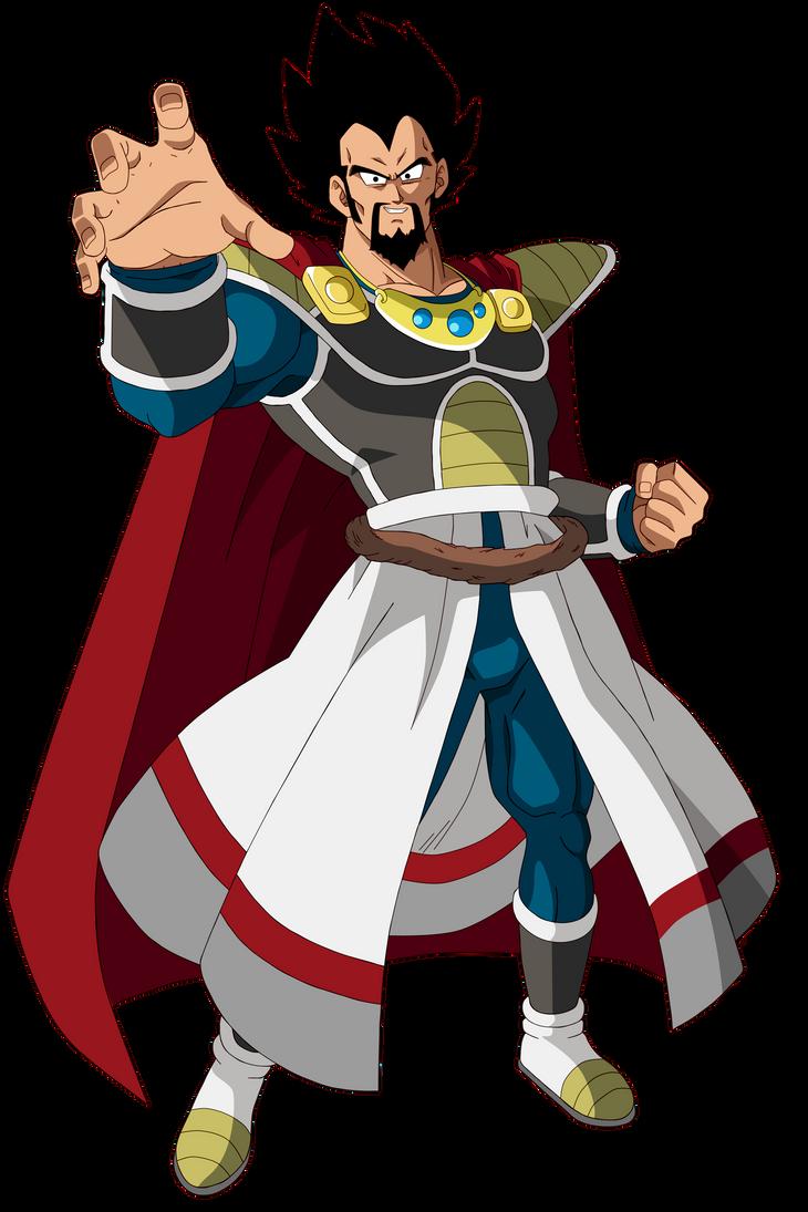 King Vegeta by SaoDVD