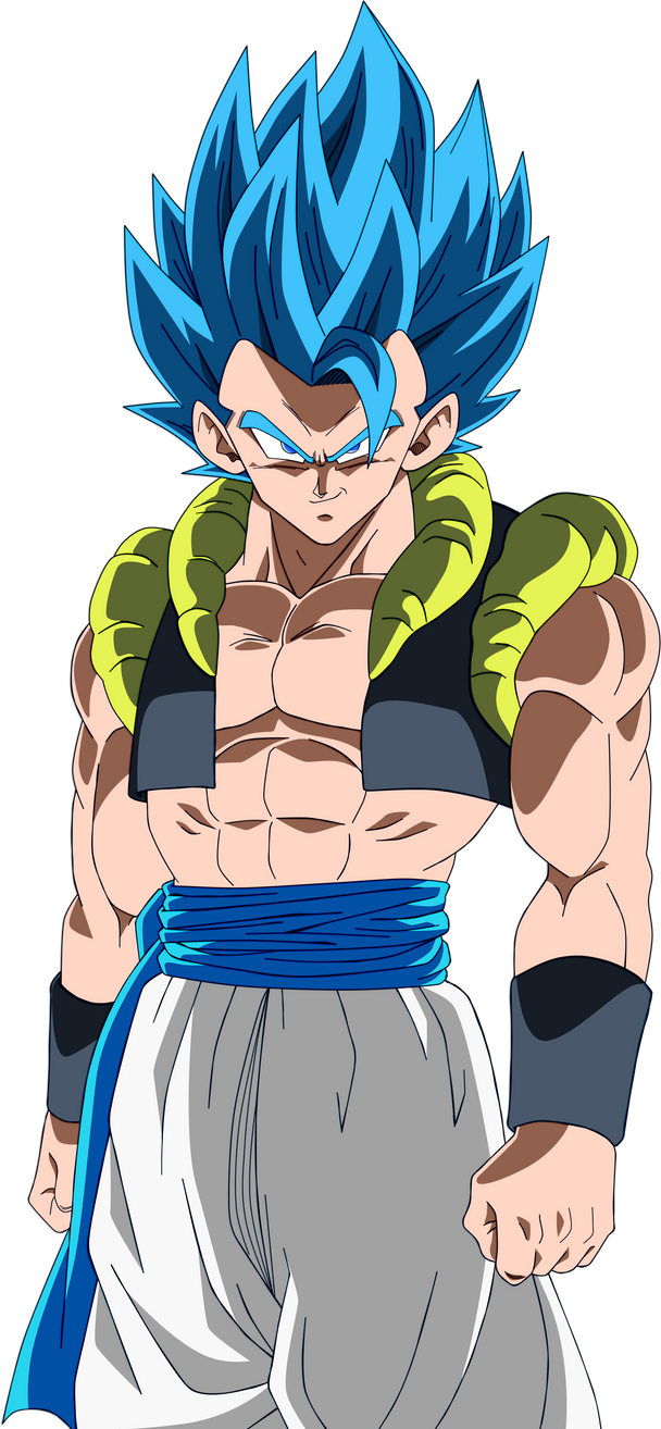 Gogeta Super Saiyajin Blue by SaoDVD