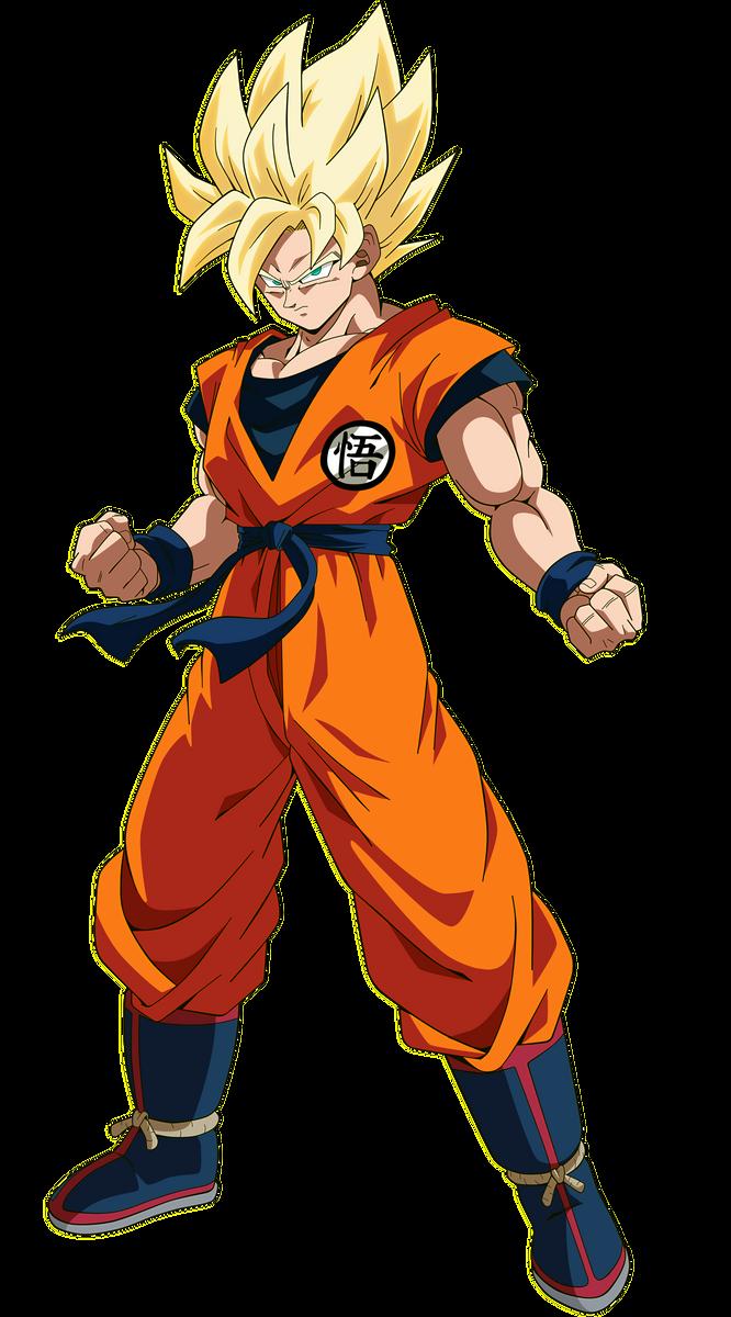 Goku - Dragon Ball Super Broly by SaoDVD