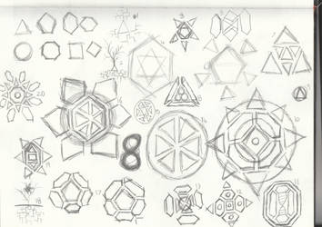 logo sketches 1 by 707cloud