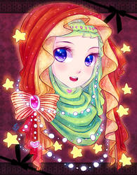 Hijjab Star Girl by ibahibut