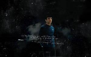 Star Trek XI Spock Wall 2 by kaygreatness