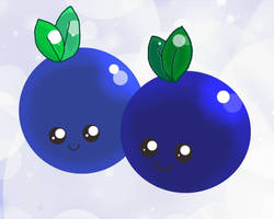 Blueberry Babies by attackofthepandas