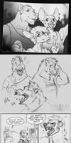 Sketchdump with Sams Gang by FlyQueen