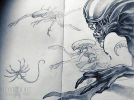 Aliens by FlyQueen